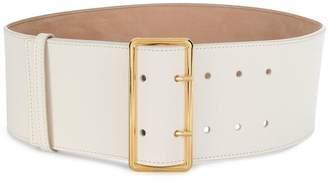 Alexander McQueen wide double pinned belt