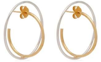 Charlotte Chesnais Saturn Vermeil & Silver Earrings - Womens - Gold