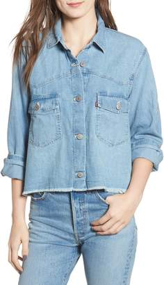 Levi's Addison Crop Denim Shirt