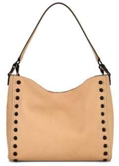 Loeffler Randall Mini Studded Leather Hobo Bag