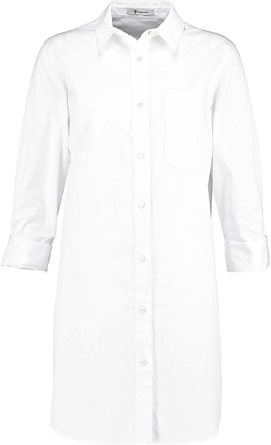 Alexander WangT by Alexander Wang Cotton-poplin shirt dress