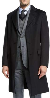 Brioni Men's Cashmere Car Coat