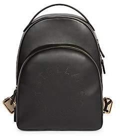 Stella McCartney Women's Stella Logo Faux Leather Backpack