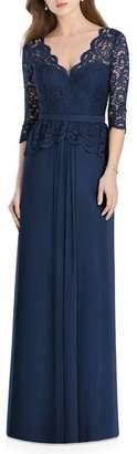 Jenny Packham Lux Chiffon Gown