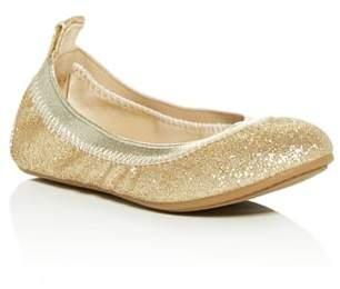 Yosi Samra Girls' Miss Samara Glitter Ballet Flats - Toddler, Little Kid, Big Kid