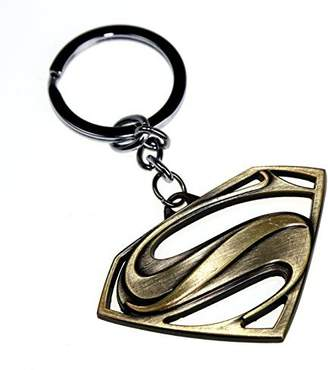 Jay&Amy's DC Comics Movie Superman Symbol Clark Kent Alloy Steel Metal Keychain Key Chain