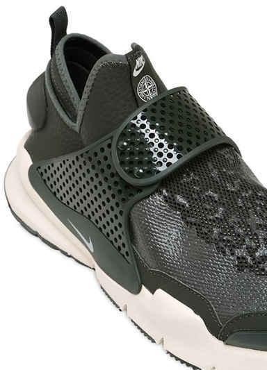 Stone Island Sock Dart Mid Top Sneakers 3