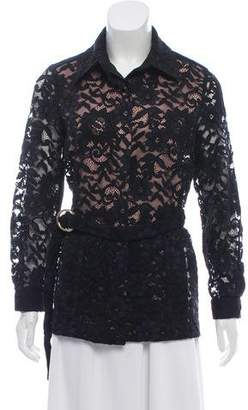 Alexis Belted Lace Jacket