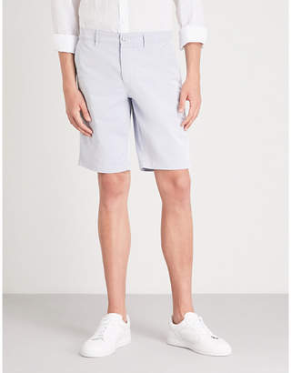 BOSS GREEN Slim-fit stretch-cotton shorts
