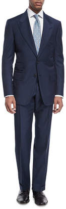 Tom Ford Windsor Base Micro-Pinpoint Two-Piece Suit
