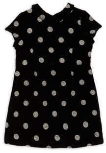 Bonpoint Little Girl's & Girl's Polka Dot Short-Sleeve Dress