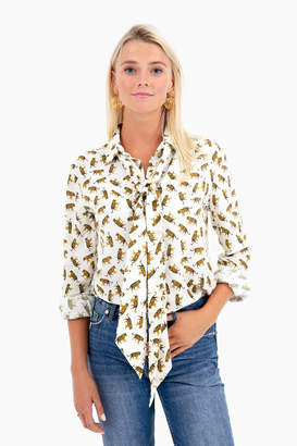 Emerson Fry Tigers Ribbons Blouse