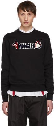Moncler 2 1952 Black Logo Sweatshirt