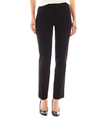JCPenney STYLUS Stylus Crossover Ankle Pants