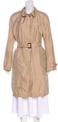 Prada Belted Lightweight Coat