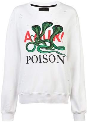 Amiri Poison sweater