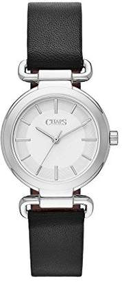 Chaps Women's 'Alanis' Quartz Stainless Steel and Leather Casual Watch