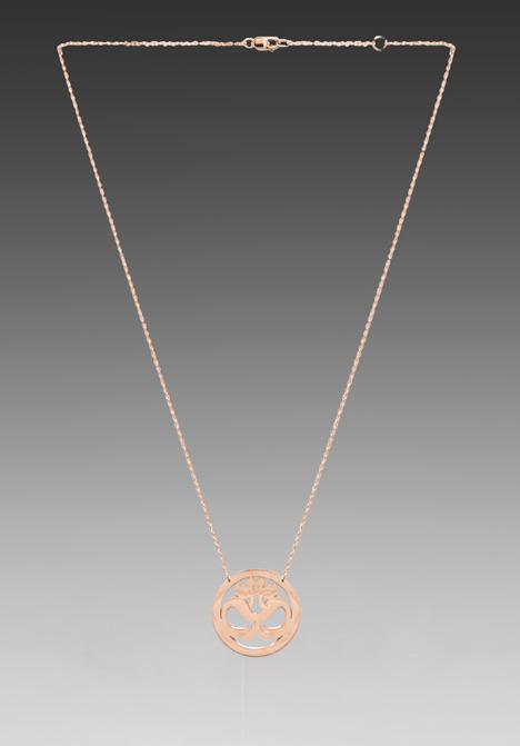 Jennifer Zeuner Jewelry Om Necklace
