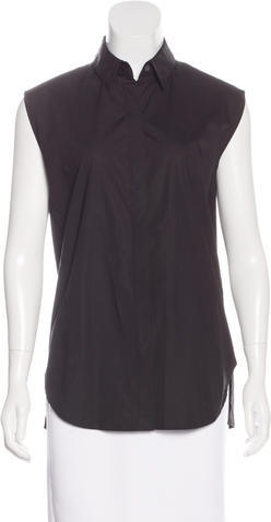 3.1 Phillip Lim 3.1 Phillip Lim Sleeveless Button-Up Top