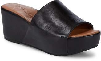 Gentle Souls Women's Forella Wedge Sandals