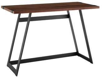 Walker Edison 42 Urban Industrial Metal Wrap Writing Computer Desk