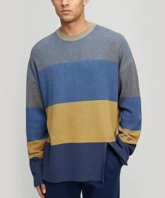 Wooyoungmi Block Stripe Knit Jumper