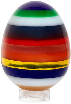 Jonathan Adler Large Stacked Acrylic Egg