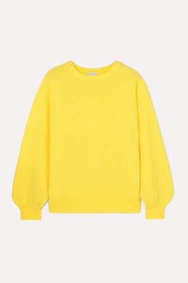 Dries Van Noten Tasche Knitted Sweater - Yellow