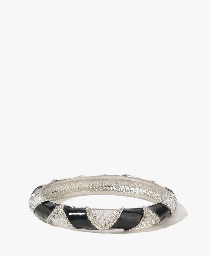 Forever 21 Lacquered Triangle Bracelet