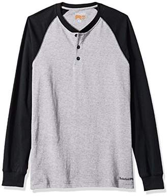 Timberland Men's Cotton Core Long-Sleeve Henley Shirt