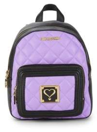 Love Moschino Quilted Heart Backpack