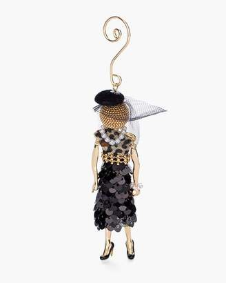 Sequined Skirt Lady Ornament