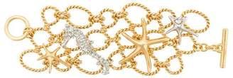 Oscar de la Renta fishnet starfish cuff