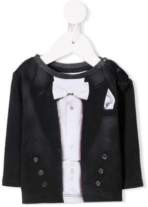 Molo smoking jacket print top