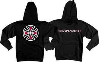 Independent Mens Bar/Cross Hoody Pullover Sweatshirt/Sweater