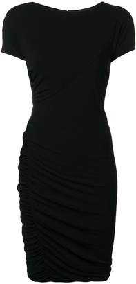 Giorgio Armani fitted midi dress