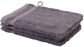 Calypso Mauve 500GSM Cotton Bathroom Towels Type: Wash Mitt