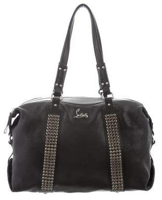 Christian Louboutin Leather Studded Bag
