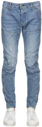 G Star 5620 3d Slim Distressed Denim Jeans