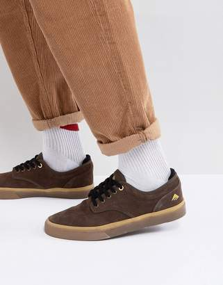 Emerica Wino G6 In Brown Gum Sneakers