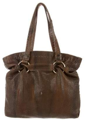 Henry Beguelin Distressed Leather Bag