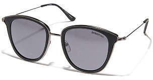 MinkPink New Women's Day Dreamer Sunglasses Stainless Steel Glass Black