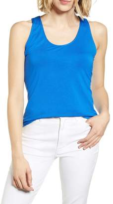 Gibson x Hi Sugarplum! Naxos Embroidered Racerback Tank Top (Regular & Petite)