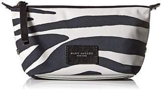 Marc Jacobs Landscape Zebra Printed Biker Cosmetics Case