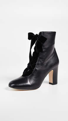 LK Bennett Maxine Lace Up Ankle Boots