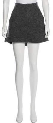 Marni Virgin Wool Mini Skirt