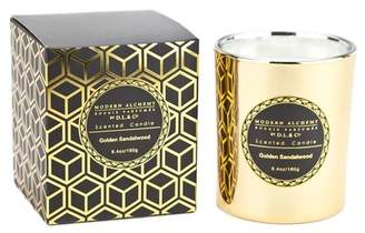 D.L. & Co. Alchemy by Electroplated Gold Sandalwood Candle