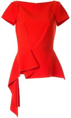 Roland Mouret Newhall SS asymmetric top