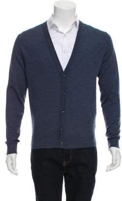 Isaia Knit Merino Wool Cardigan w/ Tags