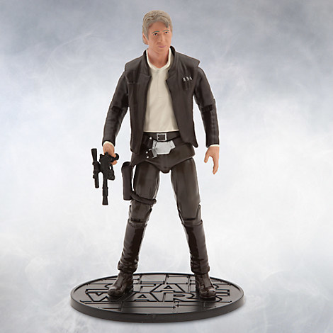 Han Solo Elite Series Die Cast Action Figure - 6 1/2'' - Star Wars: The Force Awakens